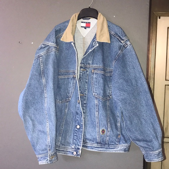 eafc1f49 Tommy Hilfiger Jackets & Coats | Vintage Denim Jacket | Poshmark